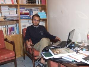 Mustafa İjaz | Bu site için çalıştığı bir an