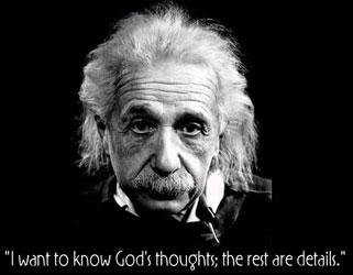 Bilmek istediğim Tanrının düşünceleridir. Gerisi detay.