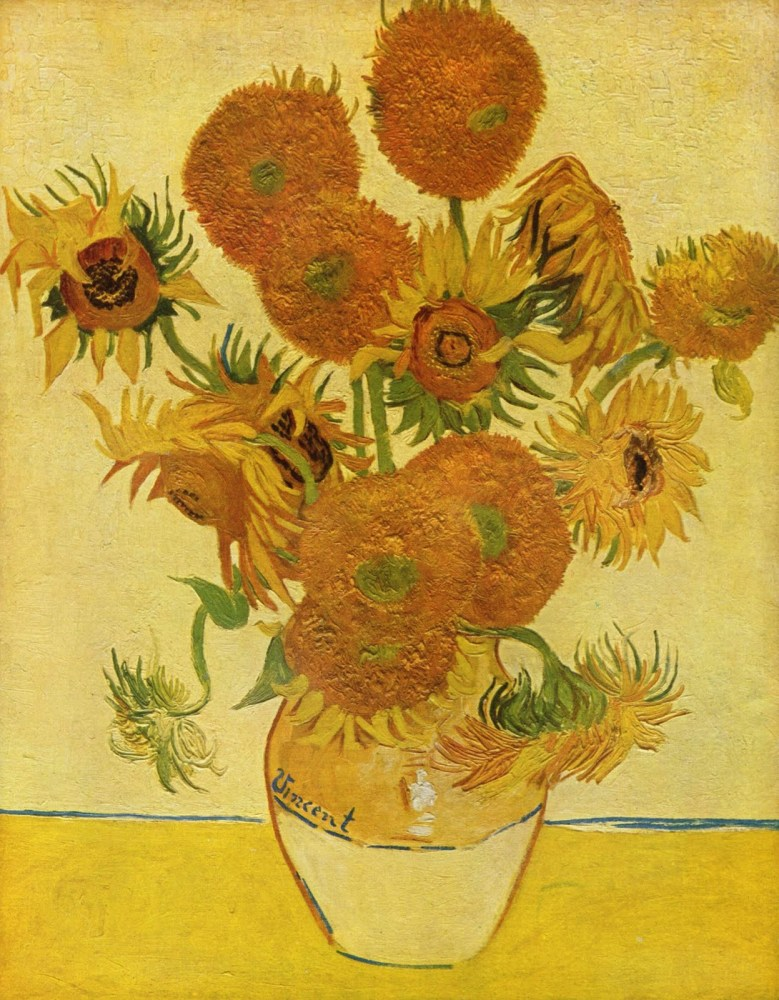 >Van Gogh Sarısı, Ayçiçekleri ve Hakikat Arayışı (1/2)