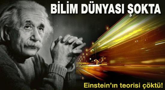 Einstein'ın teorisi çöktü ile ilgili görsel sonucu